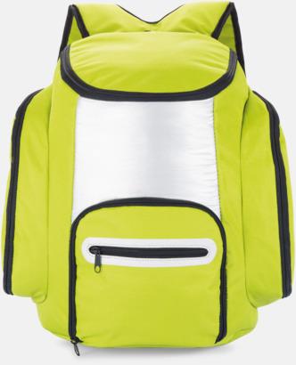 Grön Kylryggsäckar med eget tryck