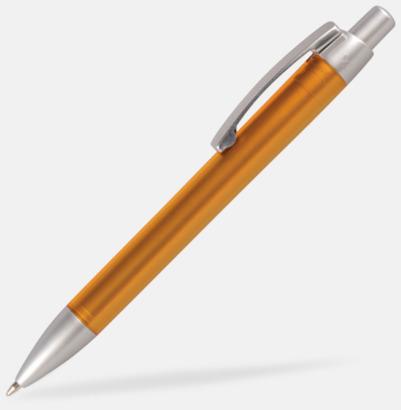 Orange Färgglada bläckpennor med digitaltryck