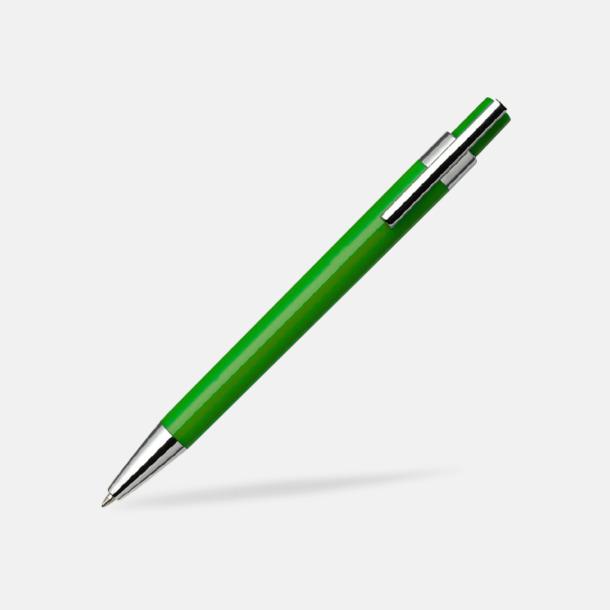 Grön Färggranna bläckpennor med tryck