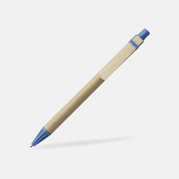 Blå Miljövänliga pennor med tryck