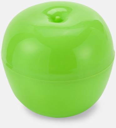 Grön Fruktfodral för äpplen och apelsiner - med tryck