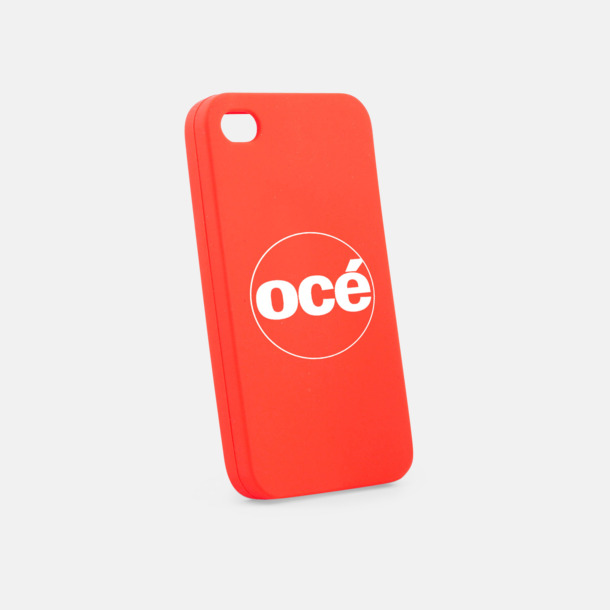 Röd Mjuka mobilskal för iPhone