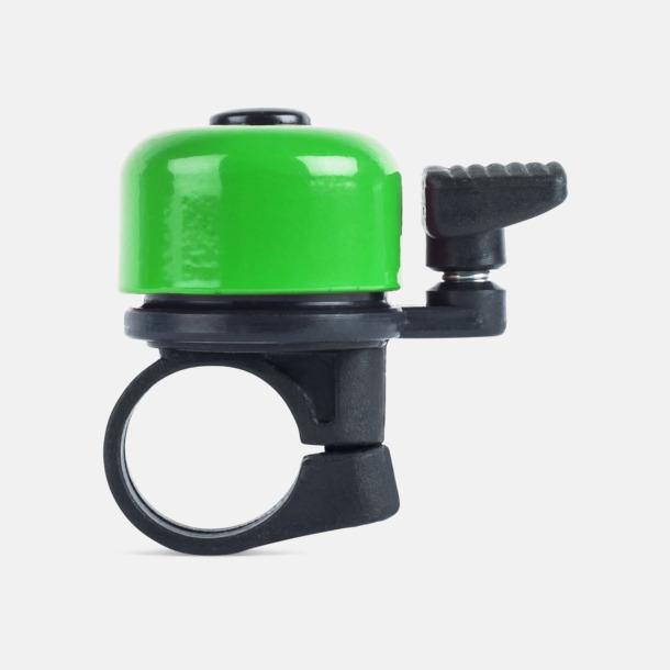 Grön Ringklocka för cykeln - med tryck