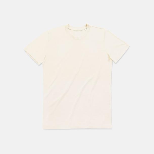 Winter White (crew-neck herr) Ekologiska t-shirts i flera modeller och många färger - med reklamtryck