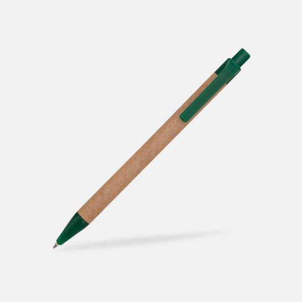 Mörkgrön Ekologiska pennor med tryck