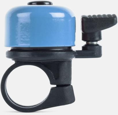 Ljusblå Ringklocka för cykeln - med tryck