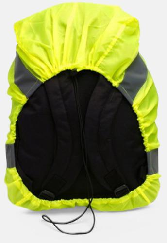 Reflexöverdrag för ryggsäcken - med eget tryck