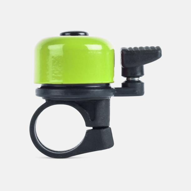 Ljusgrön Ringklocka för cykeln - med tryck