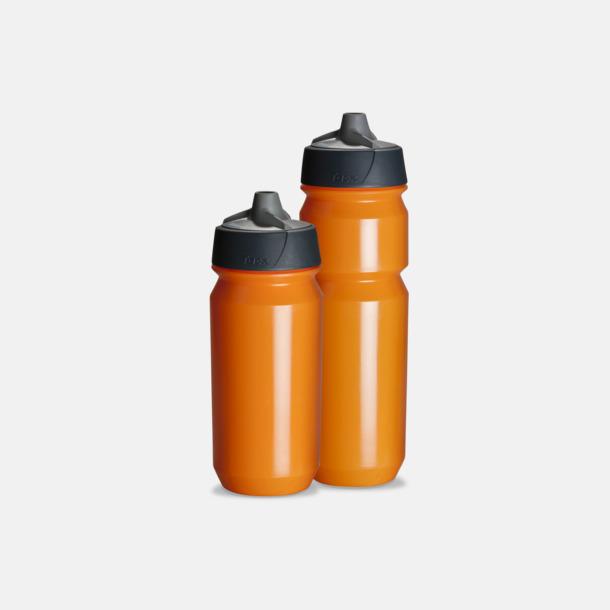Orange Vattenflaska med eget tryck