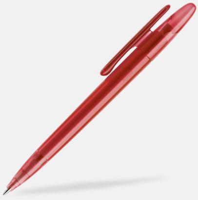 Mörkröd (frostad) Prodir pennor i matta, solida färger - med tryck