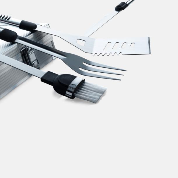 Grillbestick i set, stålväska med egen lasergravyr