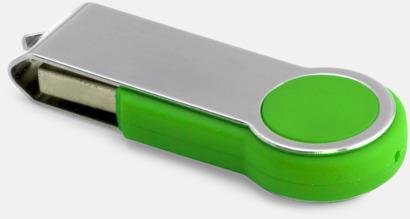 Grön Twist round med eget reklamtryck