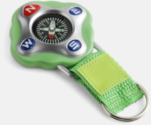 Kompass med rem och nyckelring - med reklamtryck