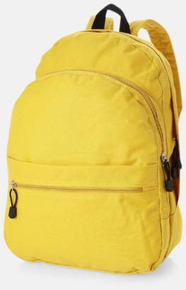 Gul Trendigt designade ryggsäckar med tryck