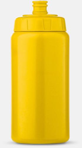 Gul (50 cl) Kompakta vattenflaskor i 2 storlekar med reklamtryck