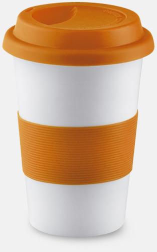Orange Muggar to go - med reklamtryck