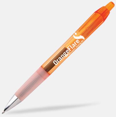 Clear Orange Bläckpennor med gelbläck från BIC - med reklamtryck