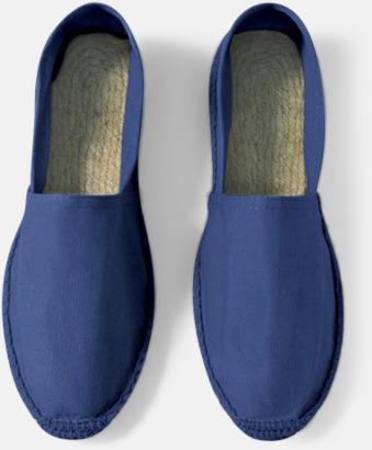 Pacific Deep Blue Sandaler i herr- och dammodell med reklamtryck