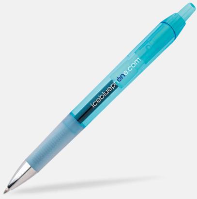 Clear Blue Bläckpennor med gelbläck från BIC - med reklamtryck