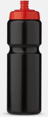 Kombinerade färger (75 cl) Kompakta vattenflaskor i 2 storlekar med reklamtryck