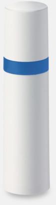 Vit / Ljusblå Pumpsprej med olika innehåll med reklamtryck