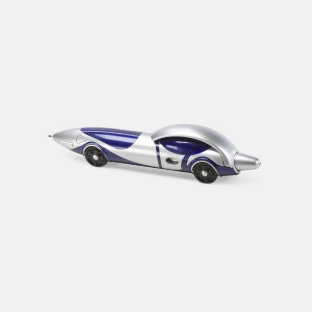 Blå Bilformade bläckpennor med reklamtryck