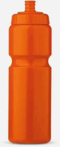 Orange (75 cl) Kompakta vattenflaskor i 2 storlekar med reklamtryck