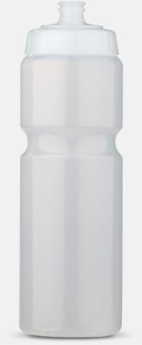 Transparent (75 cl) Kompakta vattenflaskor i 2 storlekar med reklamtryck