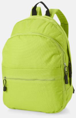 Apple Green Trendigt designade ryggsäckar med tryck
