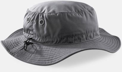 Graphite Grey Solhattar med skydd: UPF50+ med reklamtryck