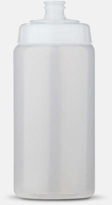 Transparent (50 cl) Kompakta vattenflaskor i 2 storlekar med reklamtryck