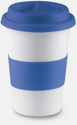 Blå Muggar to go - med reklamtryck