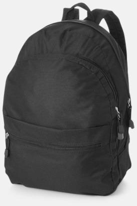 Svart Trendigt designade ryggsäckar med tryck