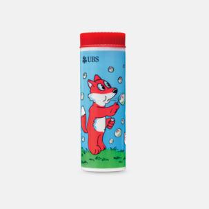 Större såpbubbelflaskor med eget tryck