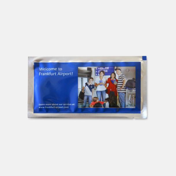 Polyester (silver) Billiga våtservetter med reklamtryck