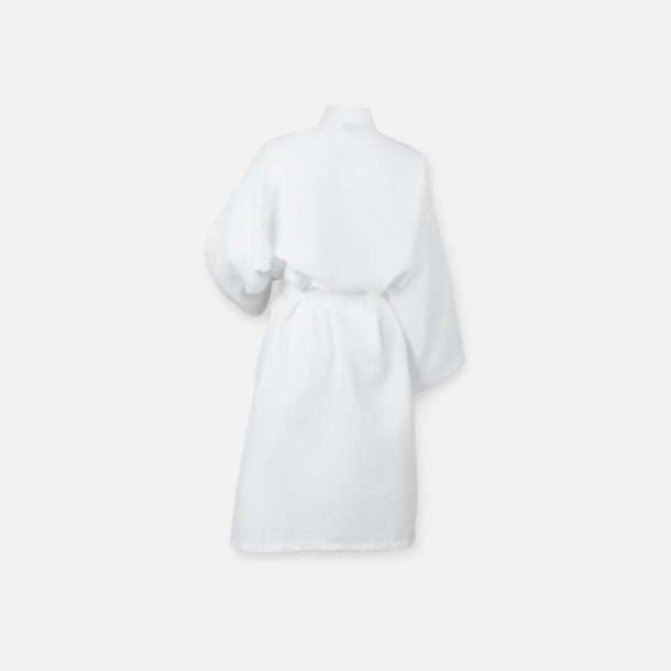Kimonoinspirerade morgonrockar med brodyr