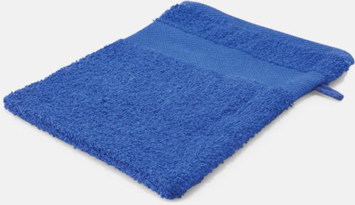 Royal Blue Småhanddukar i många färger med brodyr