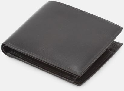 Svart Slimmade plånböcker med reklamtryck
