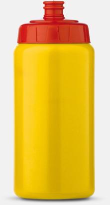 Kombinerade färger (50 cl) Kompakta vattenflaskor i 2 storlekar med reklamtryck