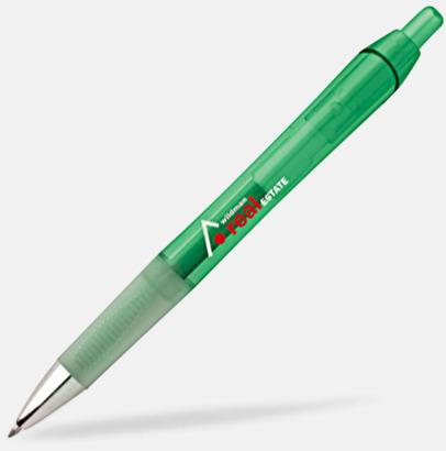 Clear Green Bläckpennor med gelbläck från BIC - med reklamtryck
