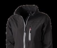 Jackor och Soft Shell jackor som värmer. Profilkläder i form av jackor med tryck eller en diskret brodyr.