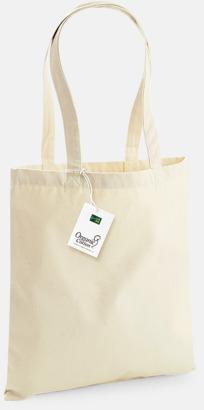 Ekologiska bomullspåsar med reklamtryck