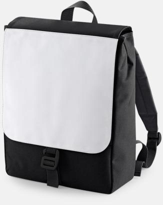 Svart Mindre ryggsäckar för barn med eget sublimationstryck