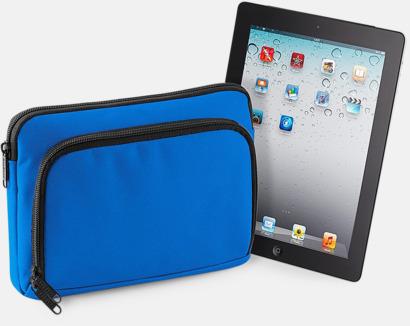 Sapphire Blue (iPad) iPadfodral i två storlekar med reklamtryck