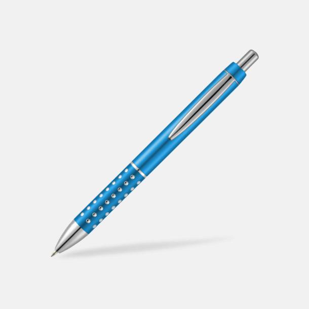 Ljusblå (PMS Process Blue C) Vackra bläckpennor med reklamtryck