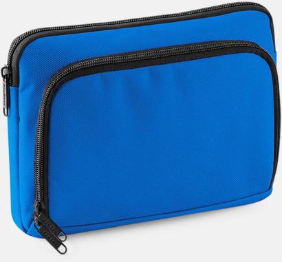 Sapphire Blue iPadfodral i två storlekar med reklamtryck
