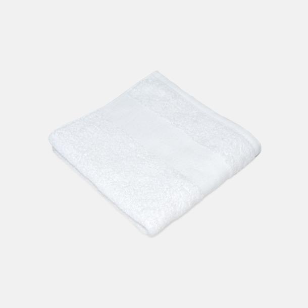 Vit Handdukar för brassestolar med reklambrodyr