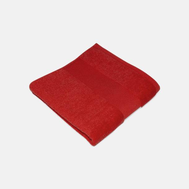 Paprika Red Handdukar för brassestolar med reklambrodyr