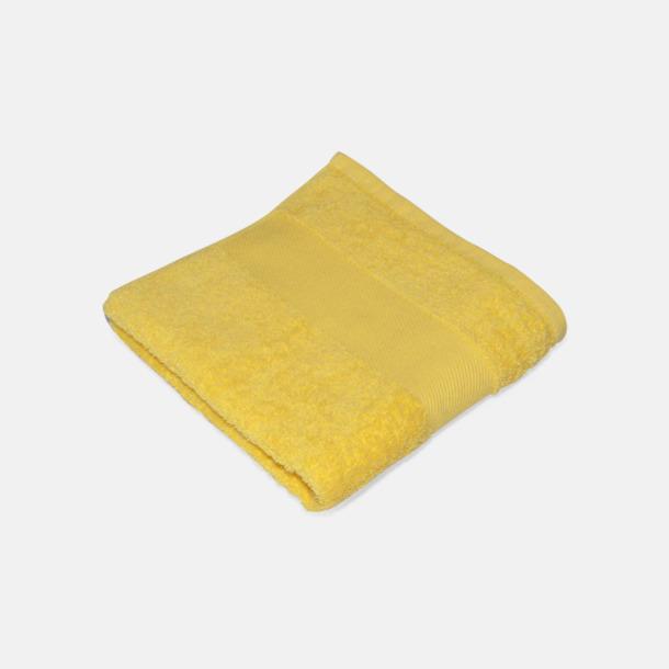 Brilliant Yellow Handdukar för brassestolar med reklambrodyr