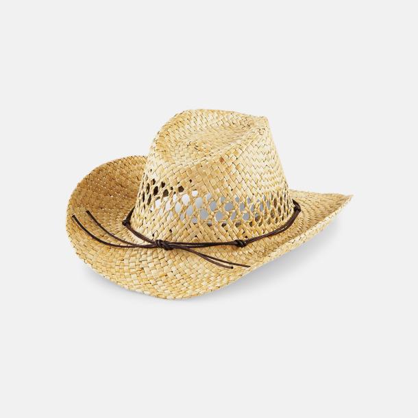 Unisex stråhattar i cowboystil